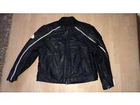 Leather Harley Davidson Motorbike Jacket - 3XL