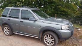 Automatic landrover freelander