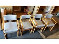 4 Health care Chairs Suitable For Summer Outdoors £10 Each