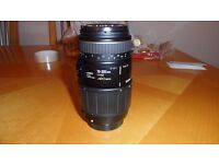 Sigma 70-300mm macro lens for Sigma mount cameras