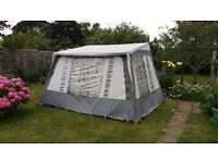 Free standing Motor Home Awning