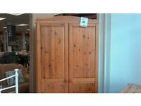 PINE WARDROBE - BRITISH HEART FOUNDATION