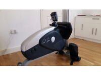 Carl Lewis magnetic rowing machine
