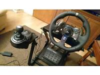 Logitech g920 with stand
