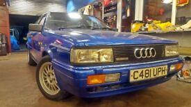 Audi Coupe quattro B2 not UR quattro