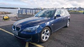 BMW 5 Series Touring (Estate) Recently Serviced - New Tyres