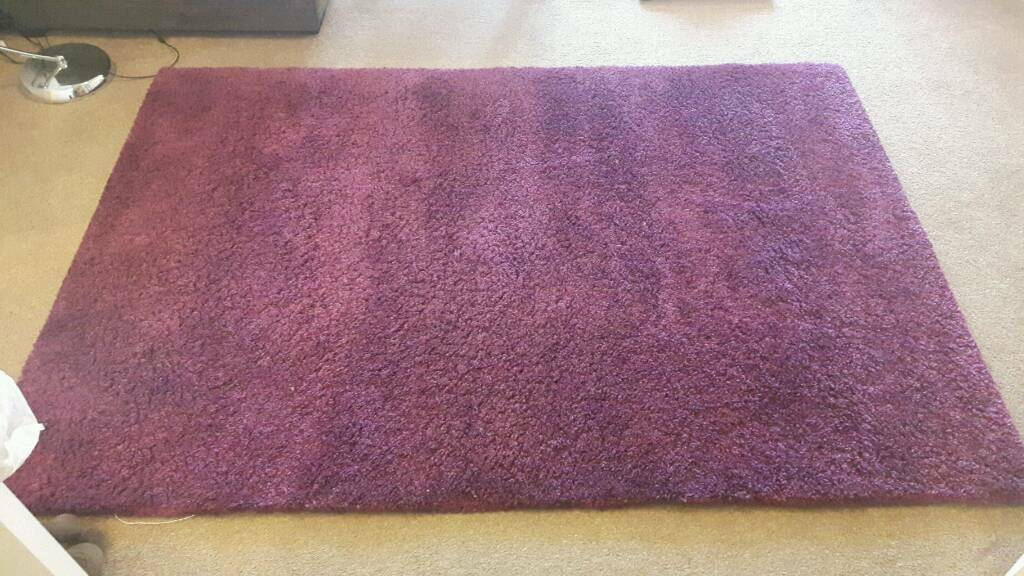 purple ikea rug in edinburgh gumtree