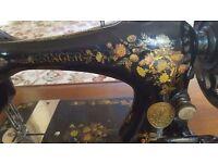 Rare vintage Singer sewing machine
