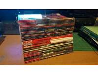 Collection of marvel comics and novels
