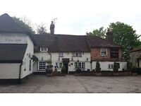 Waiting staff wanted at a busy village pub in Mersham, Kent