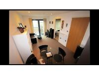 1 Double Bedroom Modern Apartment in Nottingham City Centre's Lace Market (The Habitat)