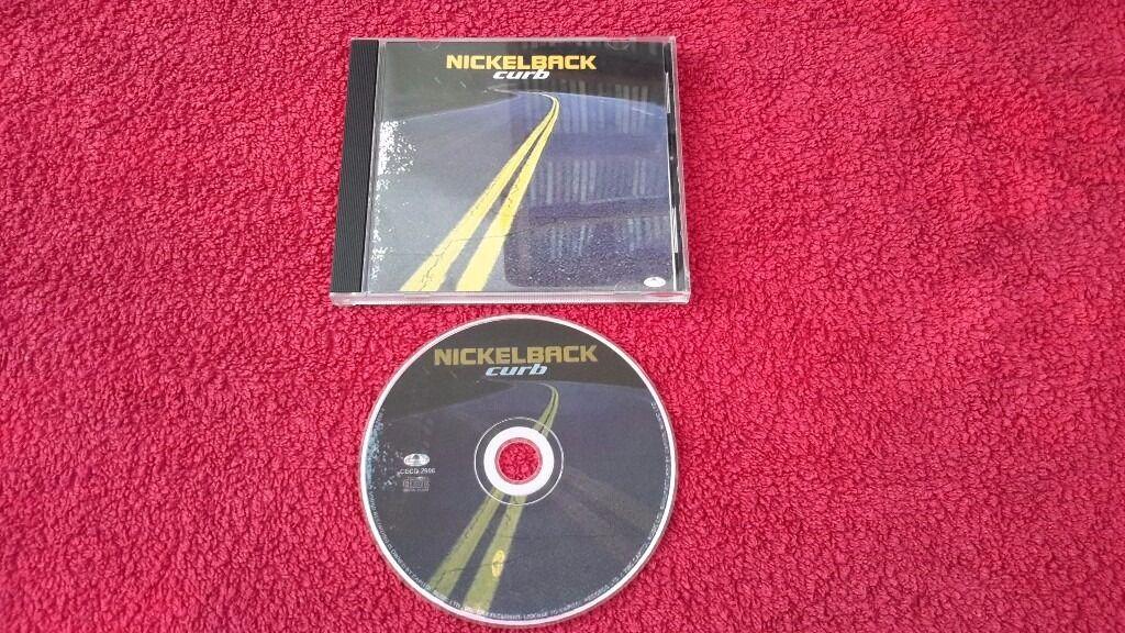 Nickelback cd - curb (CECD 2906)
