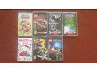 PSP Games Set