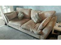 3 seater light brown cousins sofa