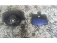 gaming wheel and pedals(ps2)