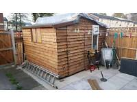 Garden shed 10.9x10ft