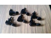 Schaller M6 Standard tuners ( used- perfect condition)