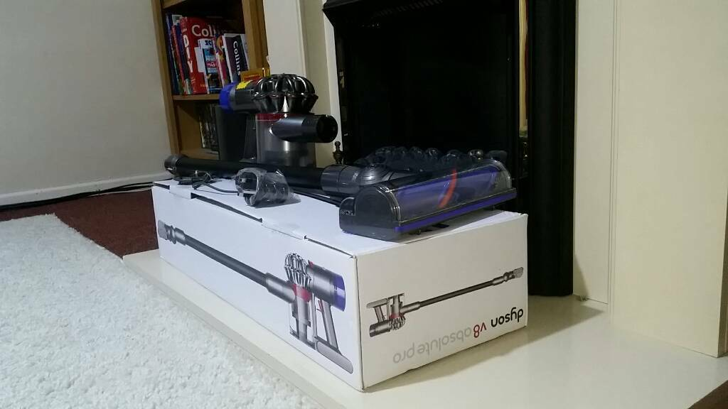 dyson v8 absolute pro in lyneham wiltshire gumtree. Black Bedroom Furniture Sets. Home Design Ideas