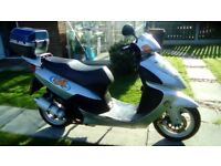 Lifan 125 T-6 scooter
