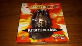 Doctor Who and the Dalek Spinomatic Game - excellent condition