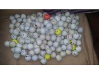 190 used golf balls. 20 for £5