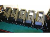 Thales Nokia Miltrak 5x Prototype Commanders Dispay Units with Charging Dock