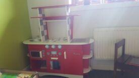 ELC retro diner kitchen (wooden)