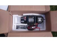 12v Electric Winch, Warrior Spartan 6000 Large Drum