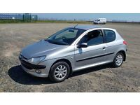 PEUGEOT 206 , NEW mot , only 24k miles !! Automatic , great going wee car.
