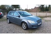 Kia Ceed 1.6 automatic, 2009. Low mileage. Good condition and recently serviced.
