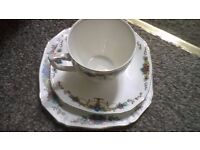 Alfred Meakin tea set, 8 cups, 8 saucers, 9 side plates