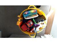 Large mixed bundle of kids toys