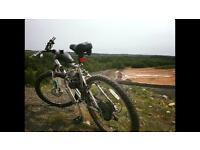Motorised push bike