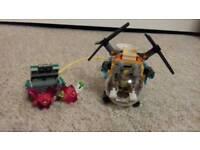 Lego Super hero girls Bumblebee Helicopter 41234