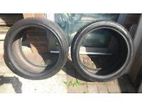2 tyres 245/35/17
