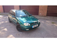 Citroes Saxo 1.1 2000 **7 months MOT** Service History* Cheap Insurance** New Clutch and Cambelt**
