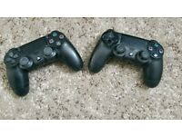 PS4 (PlayStation 4) wireless controllers for sale - £30 each