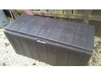 Ketter sherwood storage box brown