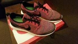 Nike Roshe NM Flyknit UK Size 10 worn 3 times only