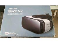 Samsung gear VR virtual reality device