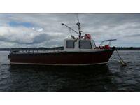 21 foot fishing boat