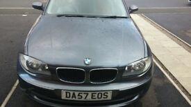 BMW 1 series 118d se 07 141 for sale