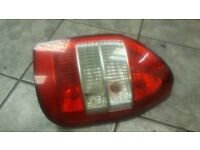 2003 VAUXHALL ZAFIRA MPV TAIL STOP LIGHT DRIVER OFF SIDE REAR COMPLETE