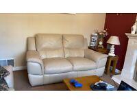 2+2 leather sofas