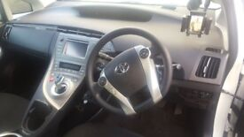 2015 TOYOTA PRIUS HYBRID STEERING WHEEL FRONT RIGHT DRIVER **AIR BAG ONLY**