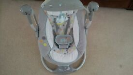 BRIGHT STARTS INGENUITY BABY SWING EXCELLENT CONDITION £25