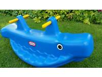Little Tykes Whale Teeter Totter