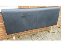 ** FREE ** Leather Super King Sized Head Board **FREE**