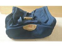 1 Cellini shoulder/ carrying traveling bag