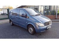 MERCEDES VITO 115 CDI COMPACT - CREW CAB Great Van, 12 month MOT